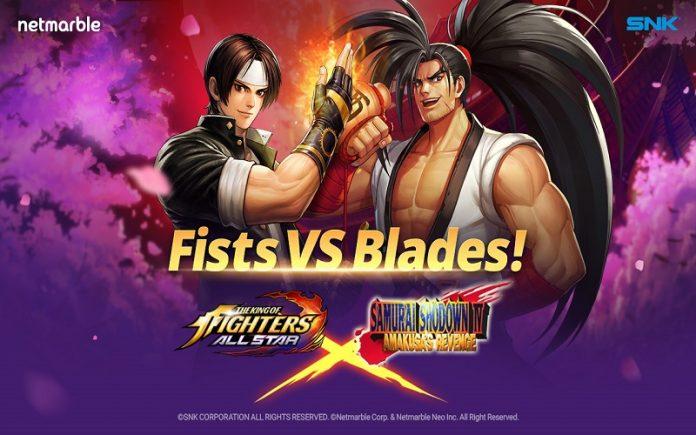 Samurai Shodown Savaşçıları The King of Fighters Allstar'a Geliyor!