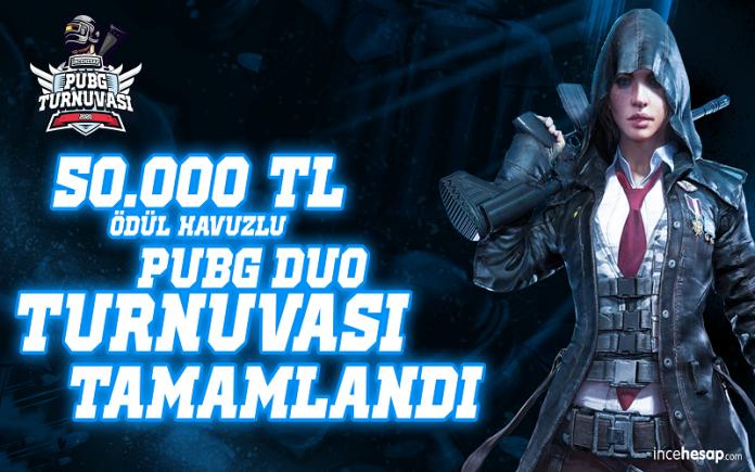 Ödül Havuzu 50 Bin TL Olan İncehesap PUBG Turnuvası Sona Erdi!