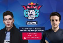 Cedi Osman Red Bull Gaming Ground @HOME'da Vadiye İniyor