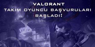 Galakticos Valorant Oyuncu Başvurularını Başlattı!