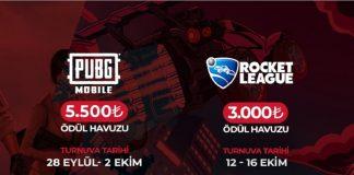 Kupa Vestel PUBG Mobile ve Rocket League Kayıtları Devam Ediyor!