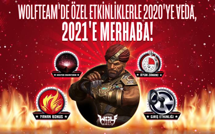 Yeni Yıl Wolfteam'de Fırsat Dolu Etkinliklerle Kutlanacak