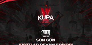 Kupa Vestel PUBG Mobile Kayıtları Devam Ediyor!