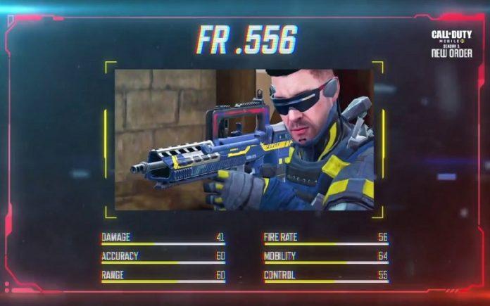 Call of Duty Mobile FR 556 Silahını Duyurdu!